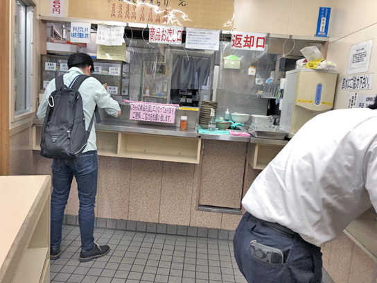 200801そば処北千住1番店内先客.jpg