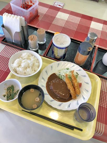 201021職員食堂ハンバグ海老フライ1.jpg