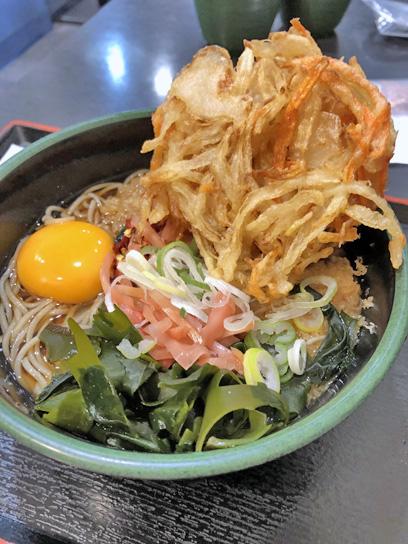 201229太郎人形町二朝そばかき揚げ玉2.jpg