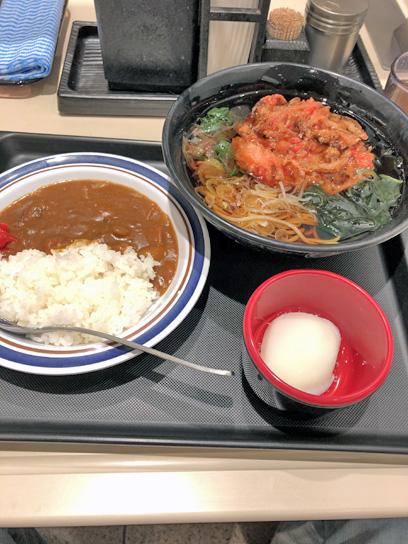 210124富士そば東陽町朝カレーセト紅ショ1.jpg